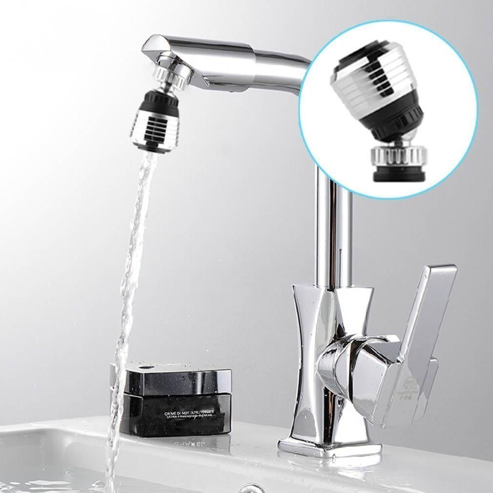 Amazon.com: 360 Rotate Swivel Faucet Nozzle Filter Adapter Water Saving Tap  Aerator Diffuser Kitchen Accessories: Kitchen U0026 Dining