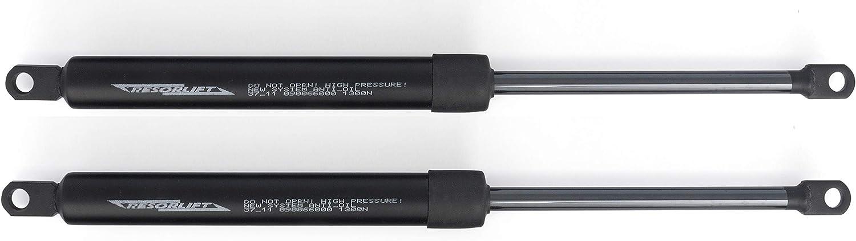 Cuens asesora en descanso Juego de 2 resortes o amortiguadores para canapés de Tuerca M-8 (1150N Brida) para Cama de 135cm