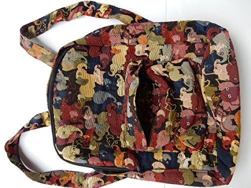 Ariyas Thaishop - Bolso mochila  de Lona para mujer Multicolor multicolor