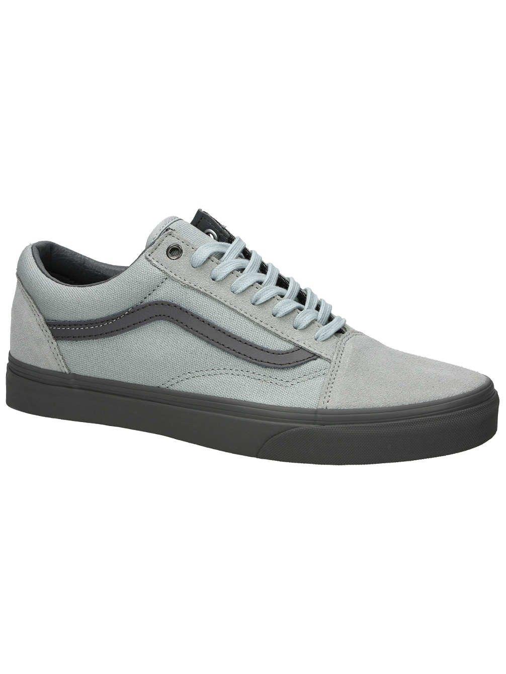 7f7cffef00 Galleon - Vans Old Skool Hi Rise Cd Pewter Skate Casual 4.5