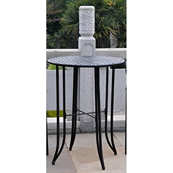 Bar Height Patio Bistro Table