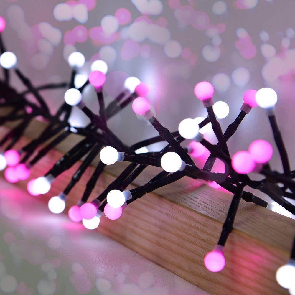 Guirnalda Luces Avoalre 25M // 1000 LED Cadena de Lucespara Interior C/álido Casas Decoraci/ón Para Exterior Boda Jard/ín(Blancas de Luz) Fiesta Navidad