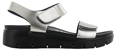 349edd1194bc84 Alegria Womens Playa Sandal Pewter Patent Size 35 EU (5-5.5 M US Women