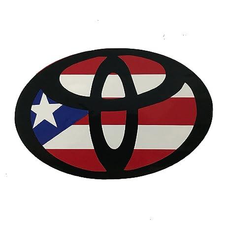 Puerto Rico Decal Toyota PR Size 4u0026quot; ...