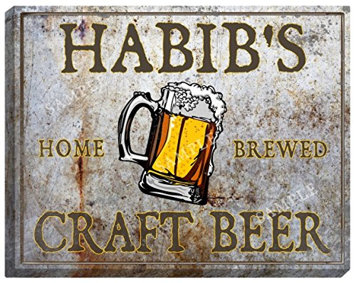 habibs-craft-beer-stretched-canvas-sign-24-x-30