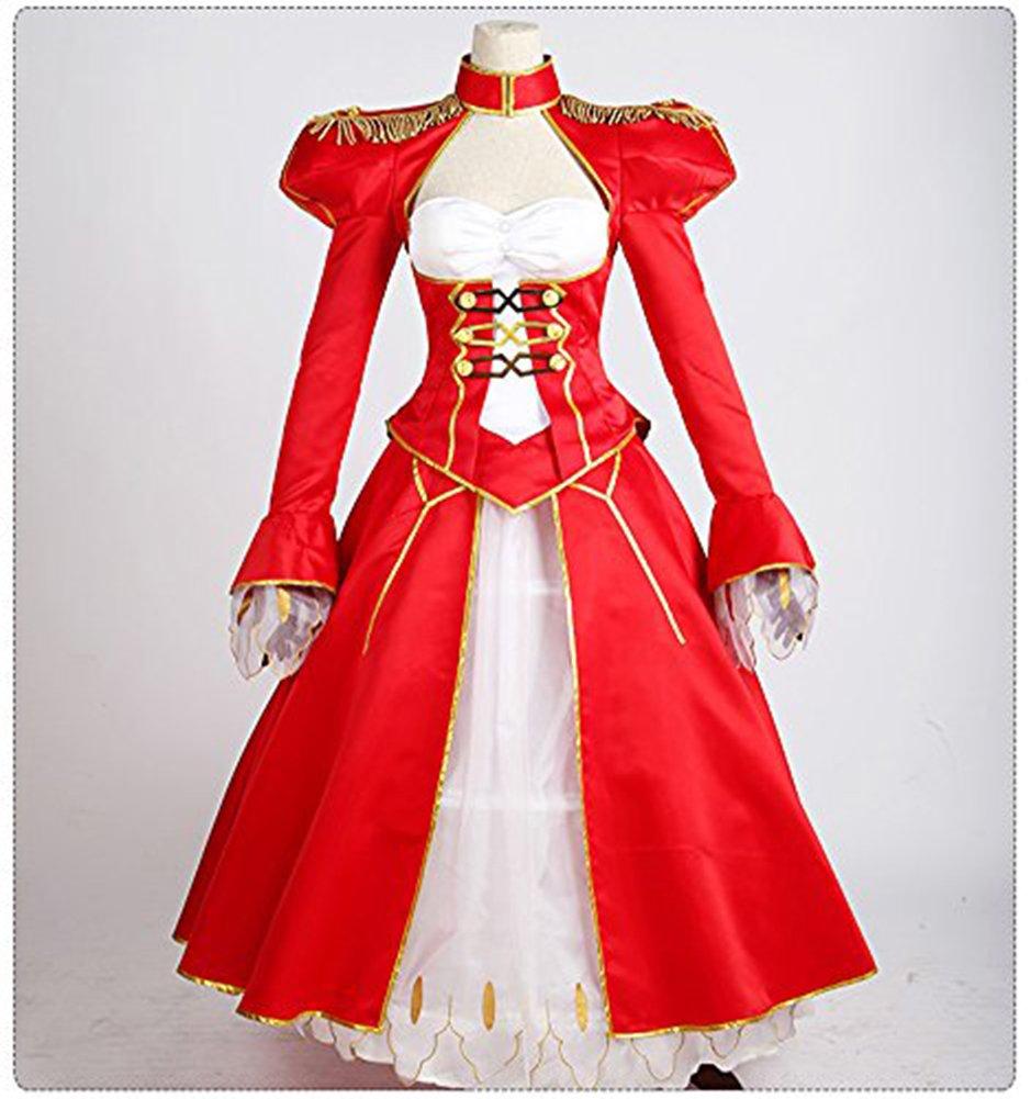 (コスヤヤ) cosyaya 赤セイ ネロ 仮装服 バー エクストラ ネロ 戦闘服風 コスプレ衣装 (L) B01N48MXUJ L