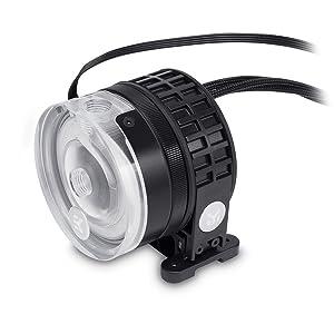 EKWB EK-XTOP Revo D5 RGB PWM Pump, Plexi (Acrylic)