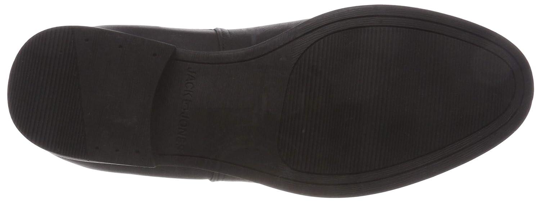 JACK & JONES Chelsea Herren Jfwabbott Pu Anthracite Chelsea JONES Boots, Grau (Anthracite) a04371