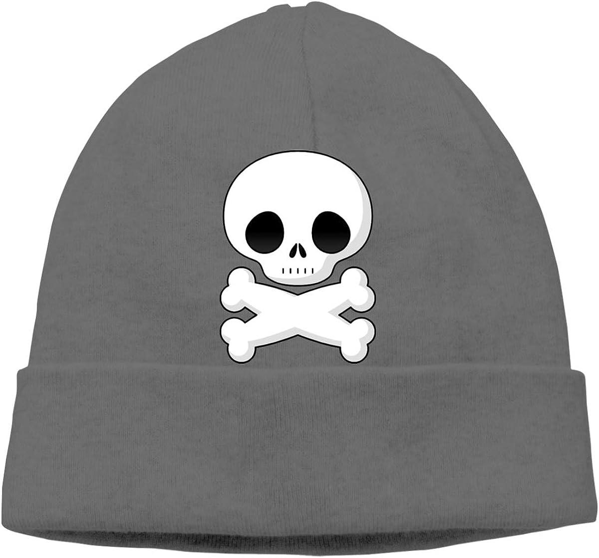 FOECBIR Crossbone and Skull Thin Beanie Hat Skull Hats Men/&Women Slouchy Soft