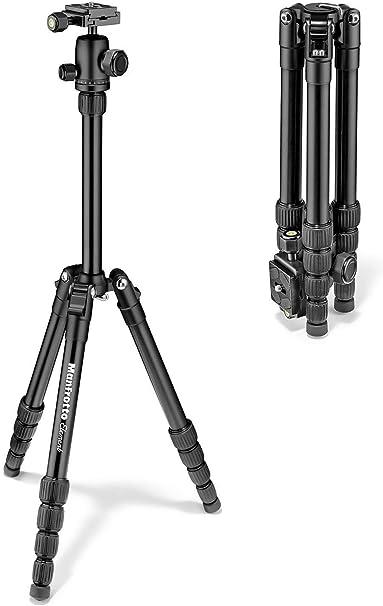 Manfrotto Element Traveller Aluminium Kit Schwarz Kamera