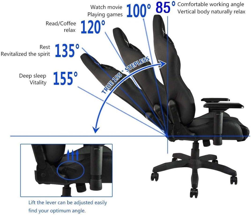 E-WIN Gaming Racing Chair 330lb Adjustable Tilt Back