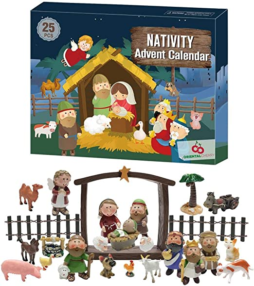 Amazon.com: ORIENTAL CHERRY Advent Calendar 2020 25 Days of