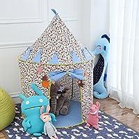Vpaly-Tente de Jouet et Maison de Jouet pour les enfants pour intérieur et extérieur (bleu)