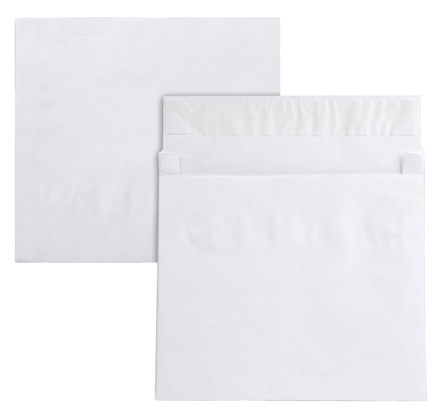 QualityPark Tyvek Open Side Envelope, 10 x 13 x 2 Inches, Pack of 25 (R4611) by Quality Park