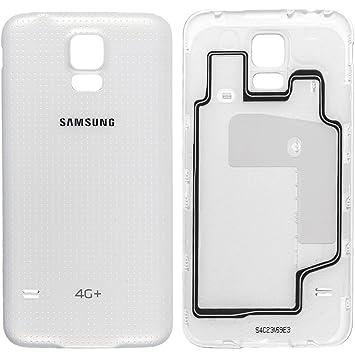 Samsung Tapa de batería Galaxy S5 Color Blanco + G901 F ...