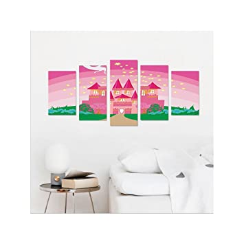 Amazon.com: Liguo88 Custom canvas Girly Decor Collection Magic ...