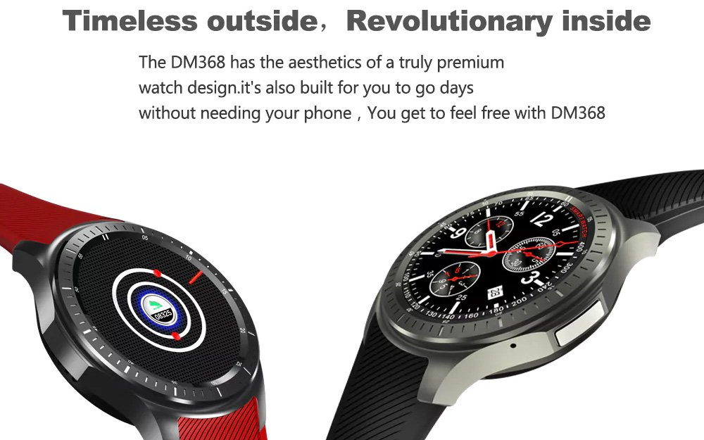 DOMINO DM368 3G Smartwatch Android OS Quad-Core CPU 1 IMEI ...