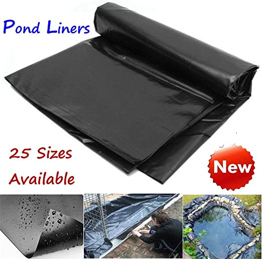 Revestimiento para estanque de 8 a 32 pies, para piscinas de jardín, membrana de PVC reforzada para paisajismo, 3.0mx3.0m: Amazon.es: Jardín