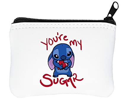 YouRe My Sugar Stitch Billetera con Cremallera Monedero ...