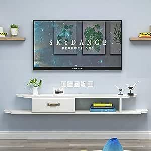 JDH Mueble de Pared Estante Flotante Mueble de TV de Pared, c, 140 cm: Amazon.es: Deportes y aire libre