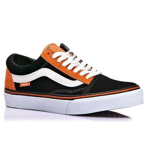 scarpe vans arancioni