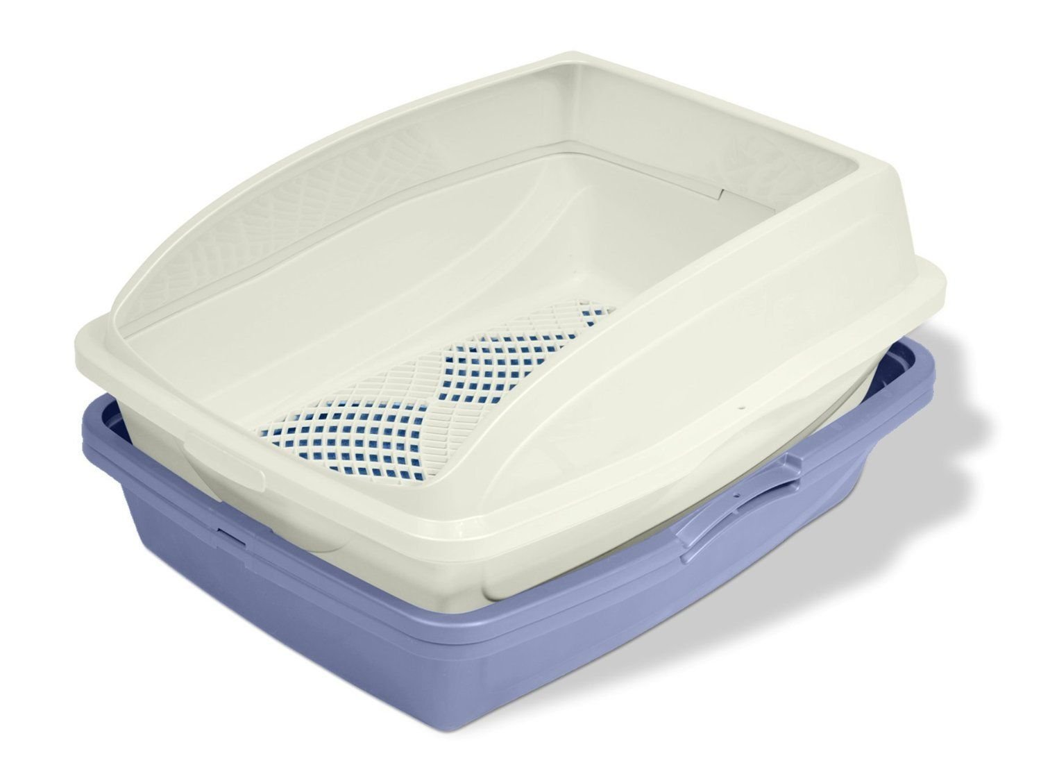Sifting Cat Pan/Litter Box with Frame