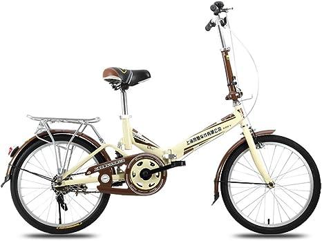XQ F300 Bicicleta Plegable Adulto Hembra 20 Pulgadas Ultralight ...