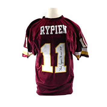 Discount Mark Rypien #11 Autographed Signed Washington Redskins Jersey JSA