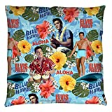Elvis Presley - Blue Hawaii - Throw Pillow - 14'' X 14''