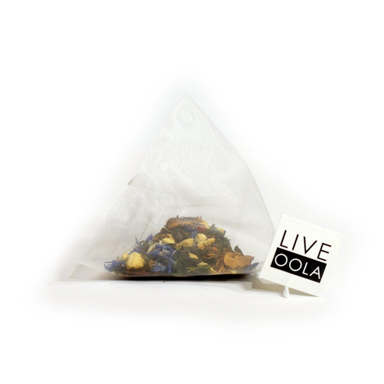 Oola Tea - DETOX (Dragon Clove) 14 Count | Certified Organic Green Tea | Increases Fat Burning | Improves Digestion