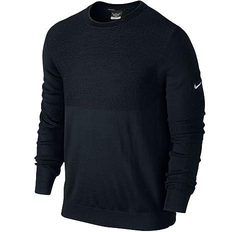 Nike TW Engineered Golf Sweater 2015 Black/Wolf Grey Small