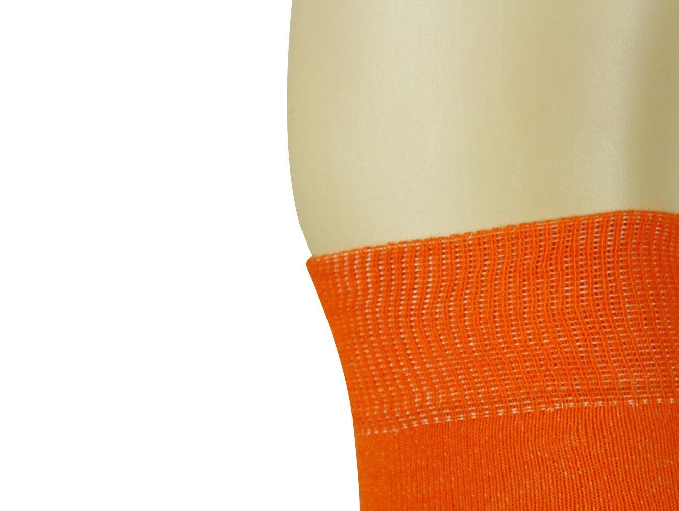 Mysocks Unisex Knee High Long Socks Orange,4-7 by MySocks (Image #4)