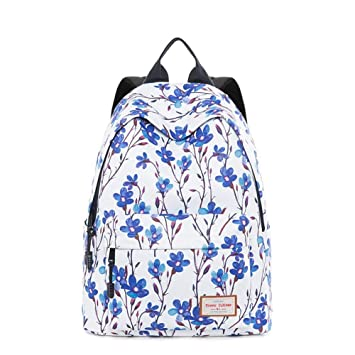 Eeayyygch Bolso de Hombro Estampado, Brisa de Colegio Femenina, Mochila Fresca, 32X16X39Cm, Canna (Color : Branches and Leaves): Amazon.es: Hogar