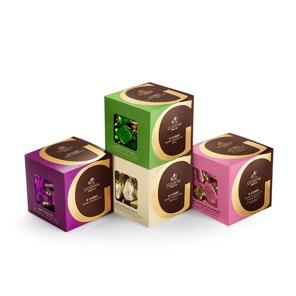 Amazon.com : Godiva Chocolatier Milk Chocolate G Cube