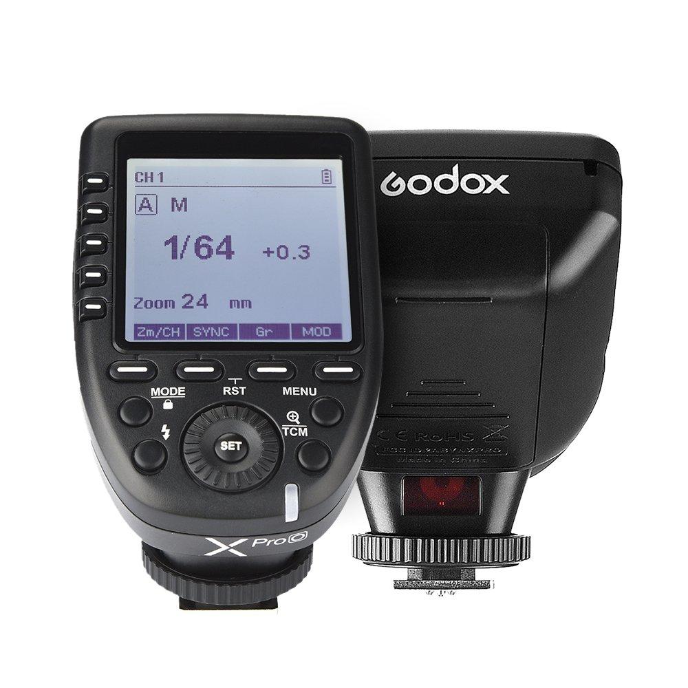 DMC-GX85 8000s HSS con pantalla LCD grande para Olympus para Panasonic DMC-G85 DMC-GF1 DMC-FX2500GK DMC-LX100 Godox XproO 2.4G Flash TTL Autoflash 1 DMC-GH4