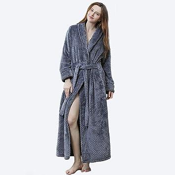 Albornoz Para Mujer Batas De Baño Toalla Universal De Moda De Lujo Largo Suave Toalla De