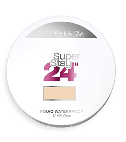 Maybelline New York Superstay 24H, Polvo Compacto Matificante, Tono: nº30 Sand - 9