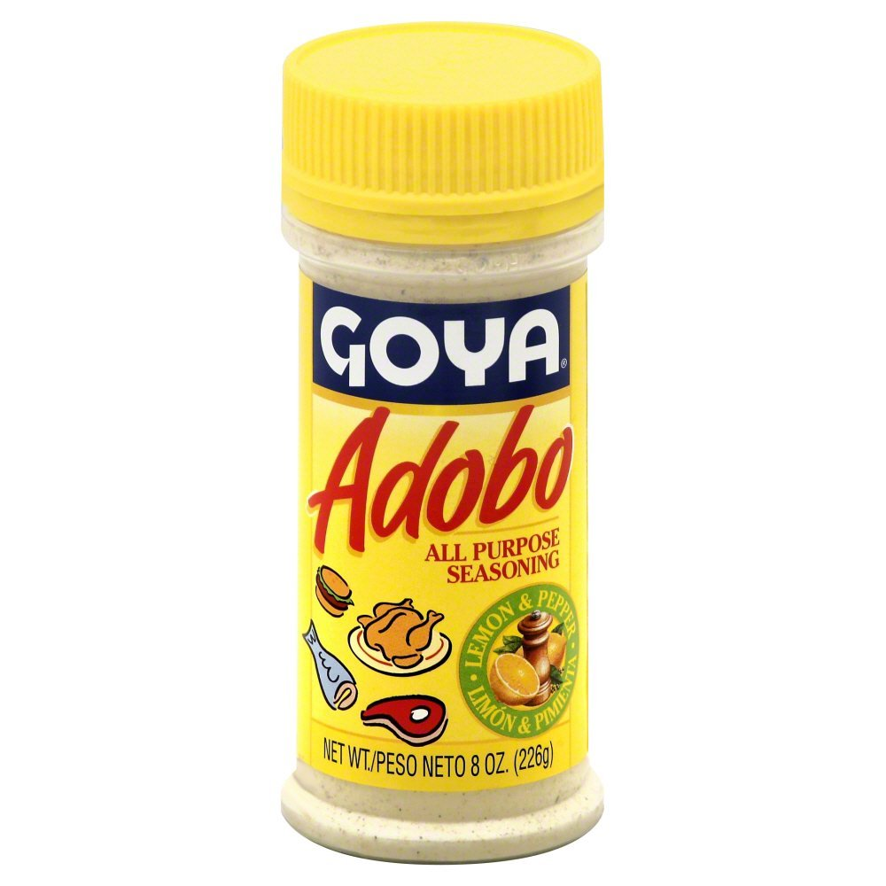 Goya Adobo with Lemon 8.0 OZ(Pack of 12)