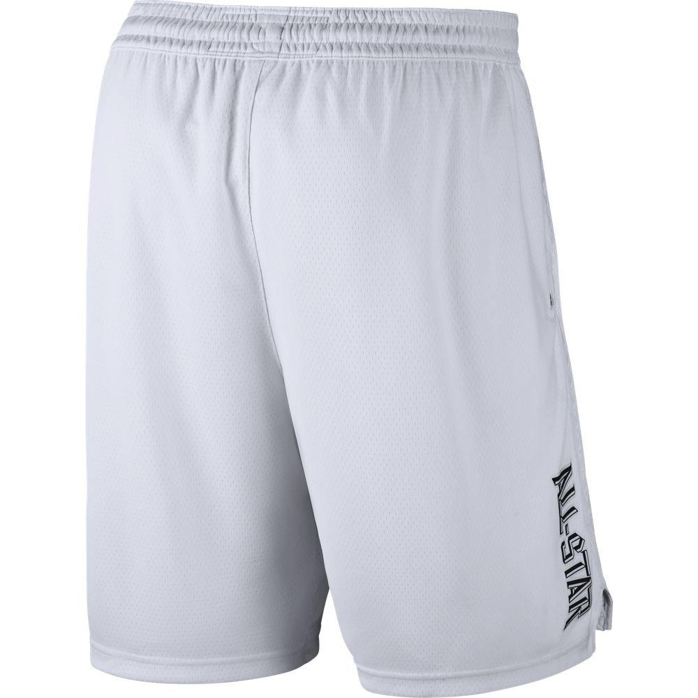 d4a0ab670d19 Amazon.com  Nike Jordan NBA Swingman All-Star Basketball Shorts (White