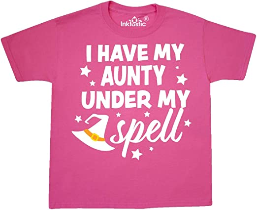inktastic I Have My Poppi Under My Spell with Cute Witch Hat Baby T-Shirt