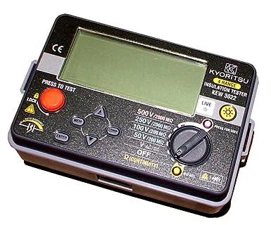 共立電気計器 キューメグ デジタル式 4レンジ絶縁抵抗計 3023