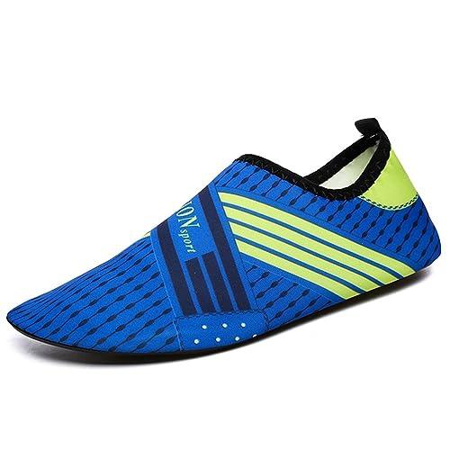 Las Mujeres Zapatos Yoga Corta Playa Calcetines Zapatos de Verano Agua: Amazon.es: Zapatos y complementos