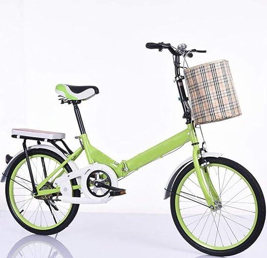 GHGJU Bicicleta Plegable Bicicleta Velocidad Estudiante Velocidad ...