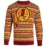 Washington Redskins 2016 Aztec Print Ugly Crew Neck Sweater