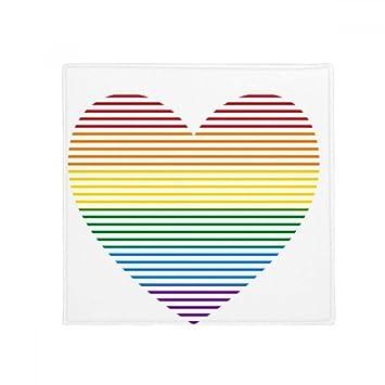 Amazon De Diythinker Regenbogen Homosexuell Lesben Gezeichnet Herz