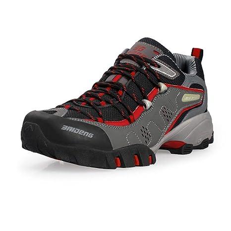 BUSL Scarpe da ginnastica da uomo scarpe da escursione casual impermeabili  all aperto scarpe da corsa scarpe da montagna caduta primavera . d . a244e33dce9