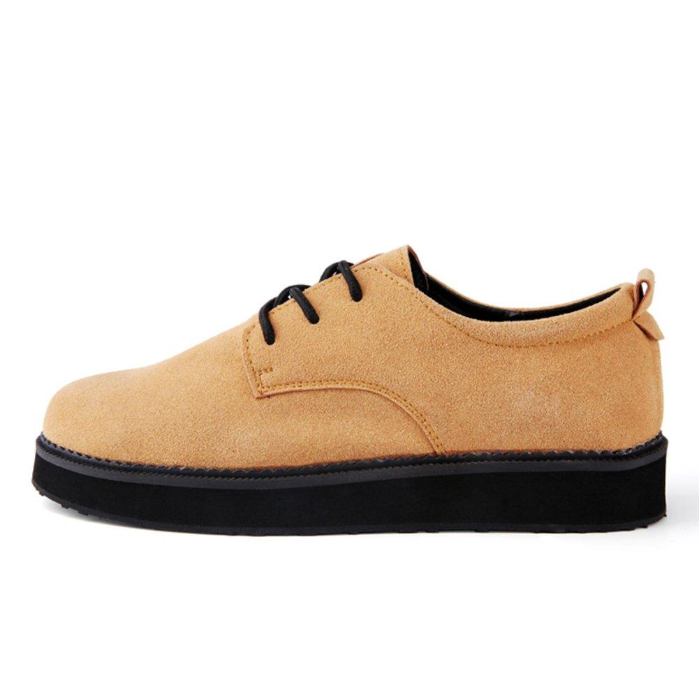 WLJSLLZYQ Herbst Stil Mode Mode Mode Herren Freizeitschuhe von England Hohen Plateauschuhen Student-Schuhe 59552a