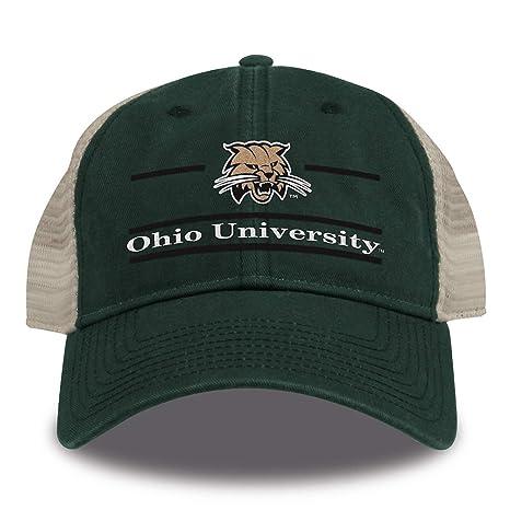 Amazon.com   The Game NCAA Ohio Bobcats Split Bar Design Trucker ... 2615439d8c1c