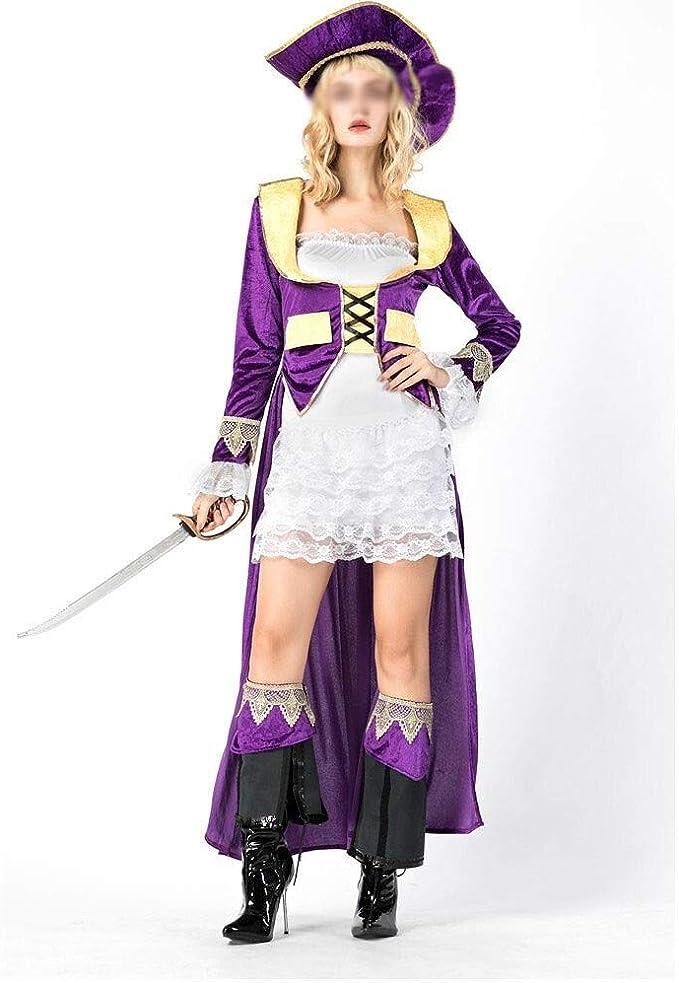 HNNH Halloween role play costume Piratas del Caribe fiesta de ...