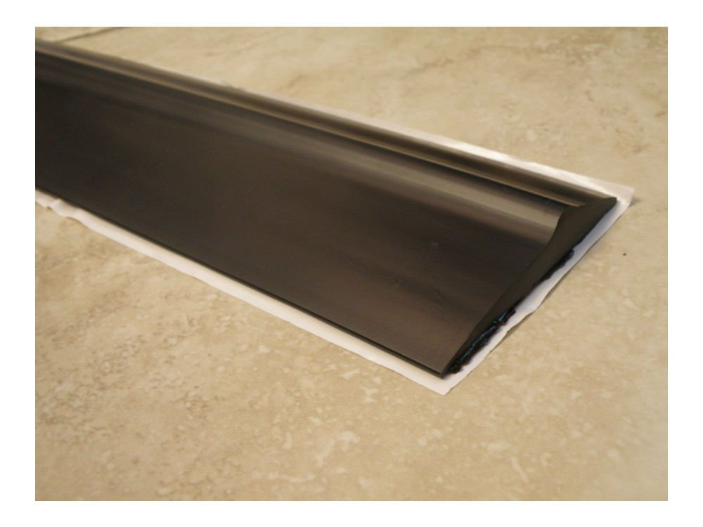 Heavy Duty Garage Door Weather Seal Threshold - Bottom Seal-18' - SELF ADHESIVE!